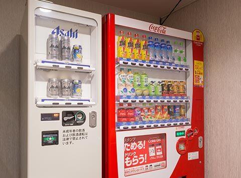 自動販売機・製氷機(4F・8F)